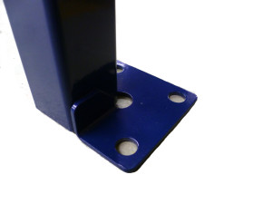 blue bench foot plate