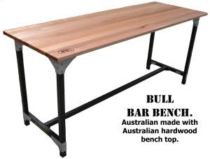 Bull Bar bench