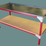 Mechanics steel work bench