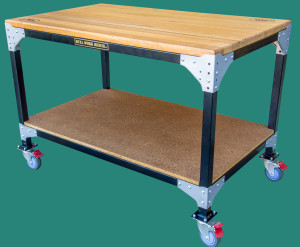 Work Bench on castors